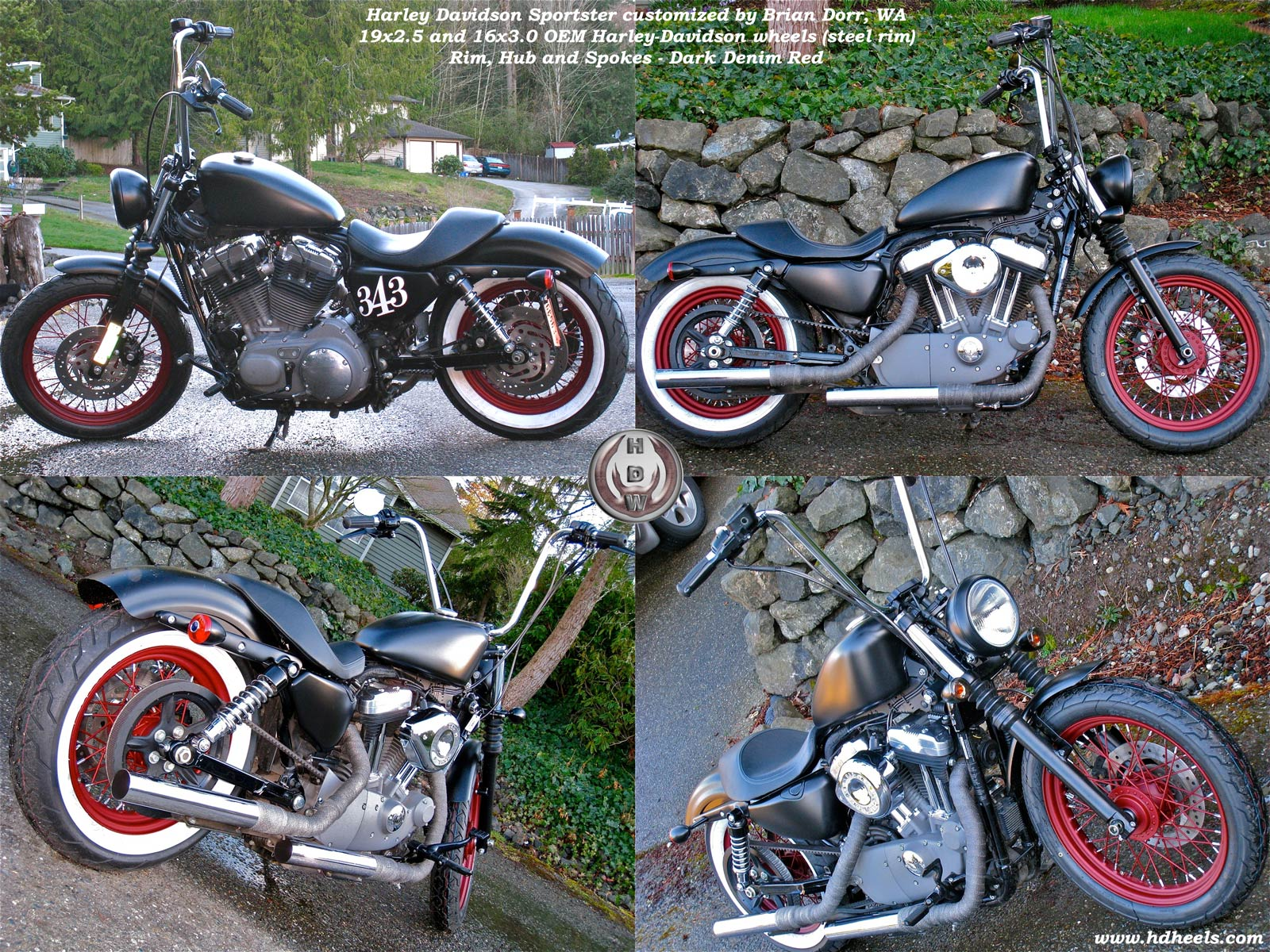 Amazing Black Wheels for Harley Sportster 1600 x 1200 · 580 kB · jpeg