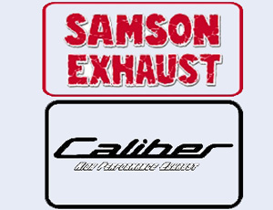 Samson and Caliber Logo