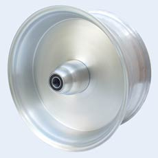 15x7 solid wheel single flange