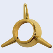 3-Bar Spinner gold