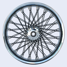 S-Cross lacing 80 Spokes