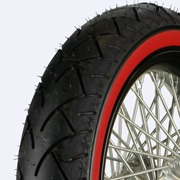 Red wall tire