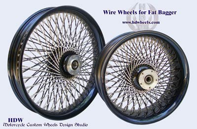 Fat Bagger spoke wheels
