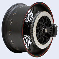 pulley-brake and 18x8.5 Apollo-Sl Denim Black