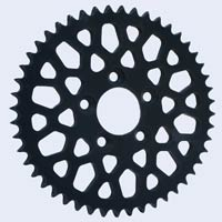 Black Chrome Plated Sprocket