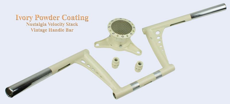 Ivory powder coating