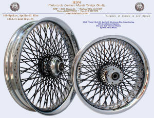 23x3.75 and 18x4.25, Apollo-SL, New Diamond spokes, Chrome, Vivid Black