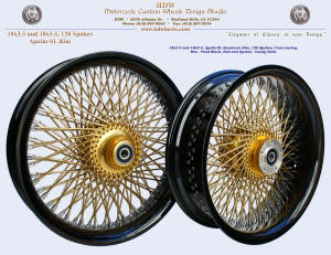 18x3.5 and 18x5.5, Apollo-SL, Vivid Black, Candy Gold