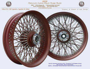 18x4.25, Apollo-SL, Cross-Radial, Twisted radial spokes, Denim Crimson Red