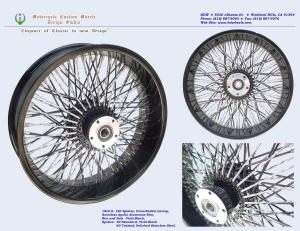 18x5.0, Apollo, Cross-Radial, Twisted radial spokes, Vivid Black