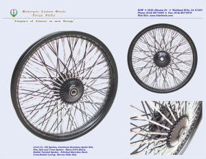 21x2.15, Apollo, Cross-Radial, Twisted radial spokes, Denim Black