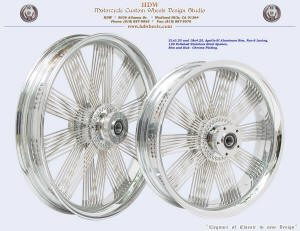 21x3.25 and 18x4.25, Apollo-SL, Fan-6, Chrome