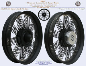23x3.75, Apollo-SL, Fan-6, Denim Black, 360 Brake