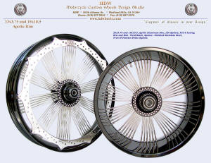23x3.75 and 18x10.5, Apollo-SL and Apollo, Fan-6, Vivid Black, Perimeter brake
