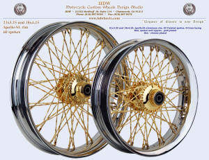 21x3.25 and 18x3.5 Apollo-SL, S-Cross, Tisted, Chrome and Gold plating