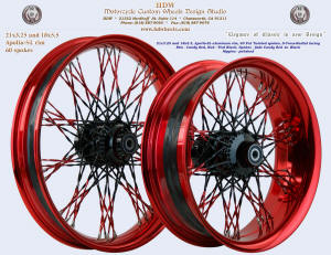 21x3.25, Apollo-SL, Fat Twisted Faded, S-Cross-Radial, Candy Red Vivid Black,