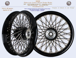 18x3.5, Apollo-SL, S-Cross, Fat spokes, Vivid Black, Modified non-symmetrical Tornado style