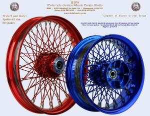 21x3.25 and 16x5.5, Apollo-SL, S-Cross, Candy Red, Candy Blue