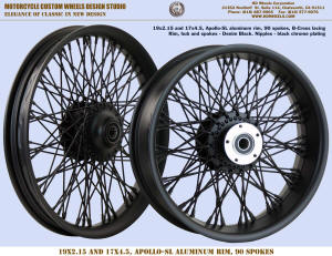 19x2.15 and 17x4.5 Apollo-SL 90 B-Cross Denim Black