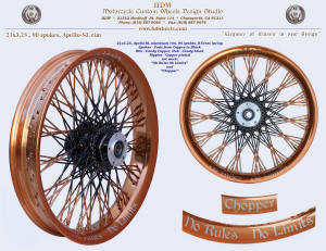21x3.25, Apollo-SL, B-Cross, Candy Copper, Vivid Black, Fade spokes, Art work